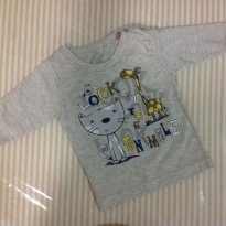 Blusa de manga comprida - Kiko Baby - 3 meses - Kiko baby