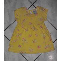 Vestido amarelinho - 6 a 9 meses - Hering Kids