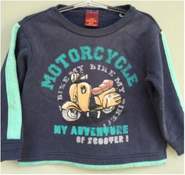 blusa de frio confortável (moto) - tamanho 2P (16 a 20 meses) - 18 meses - Marisol