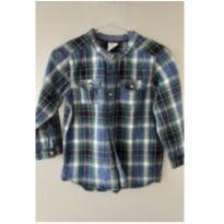 Camisa xadrez H&M - 12 a 18 meses - H&M