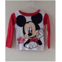 Camisa manga longa Mickey - 18 meses - Disney