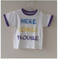 Camiseta Here comes trouble - 9 a 12 meses - Zeeman