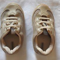 Sapatênis bege para bebê - 19 - Pimpolho