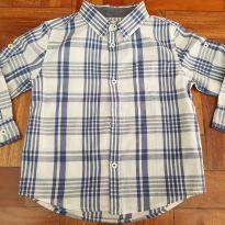 Camisa xadrez - 24 a 36 meses - Poim, Cherokee e Up Baby