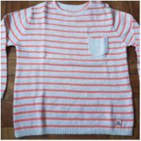 Blusa linha laranja - 3 anos - Zara Home Kids