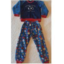 Pijama fleece bola - 4 anos - Renner