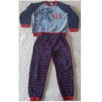 Pijama dino fleece