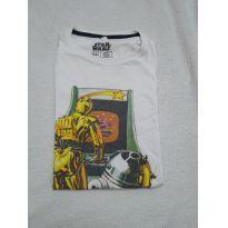 Camiseta Star Wars C&A branca - 14 anos - C&A