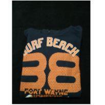 Blusa em moletom SBG surf Tam 12 - 12 anos - surf
