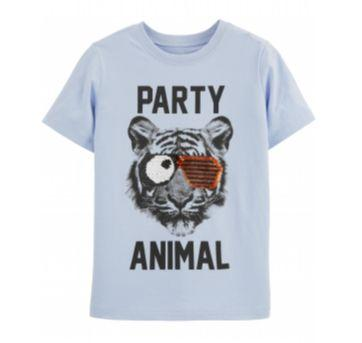 Camiseta Carter`s estampada - 5 anos - Carter`s