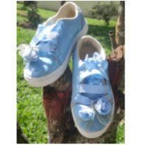 Tênis azul infantil - 25 - Luluzinha