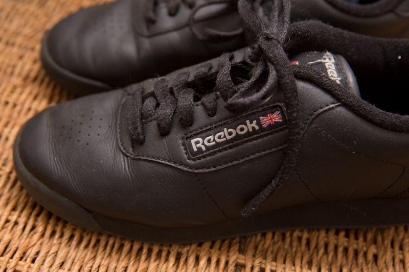 c8da3205385 Tênis Reebok Classic couro Preto 35 no Ficou Pequeno - Desapegos de ...