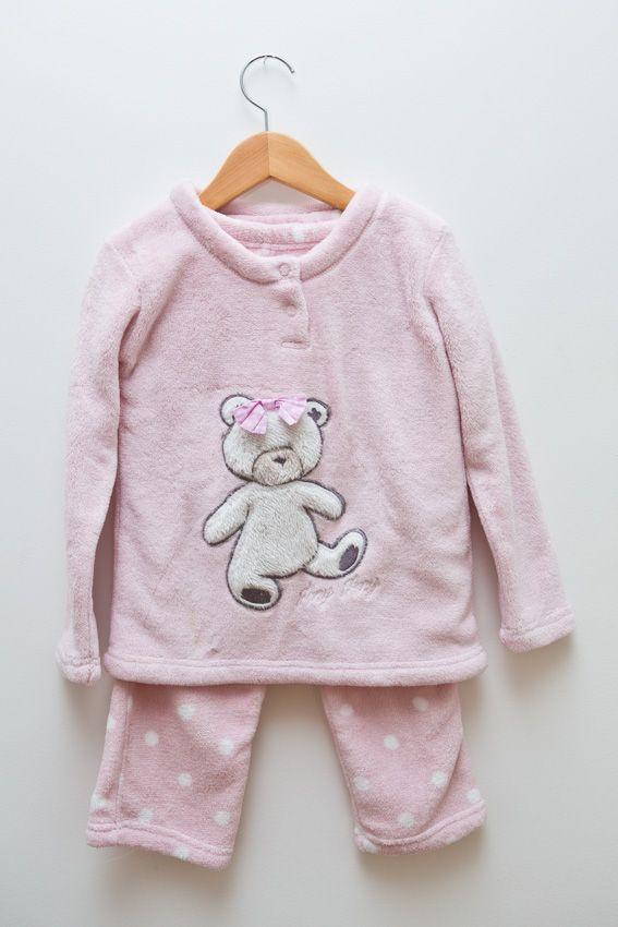 bcf822a7a9ad32 pijama rosa com ursinho Any Any