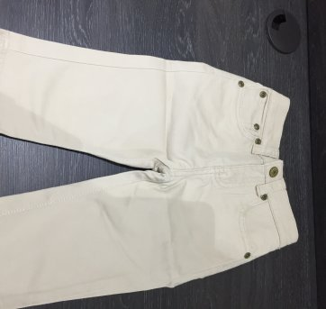 Calça Polo Ralph Lauren Sarja Bege - 18 meses - Ralph Lauren