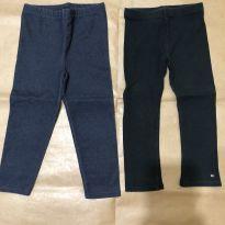 2 leggings Garanimals e Tommy Hilfiger tamanho 3T - 3 anos - Tommy Hilfiger e Garanimals