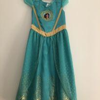 Vestido Princesa Jasmine 5/6 anos - 6 anos - Disney