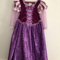 Vestido Rapunzel Disney 5/6 anos - 6 anos - Disney