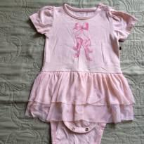 Body bailarina - 0 a 3 meses - Teddy Boom