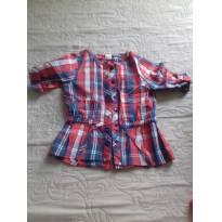 Camisa xadrez - 3 a 6 meses - cea e outro e Cea, click house