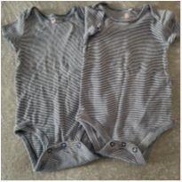 dupla de body carters e baby club - 9 a 12 meses - Carter`s e Baby Club