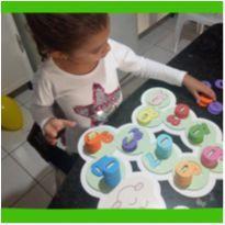 Lagarta das Quantidades 1 até 10 aprender contar pré escolar -  - Galerinha Criativa