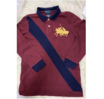 Camisa polo manga comprida ralph lauren - 7 anos - Ralph Lauren