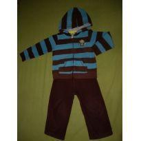 Conjunto em Fleece Carter`s Monkey - 2 anos - carter`s, baby gap, zara