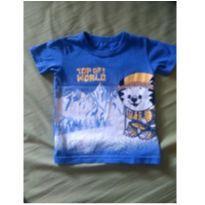 Camiseta Tigor - 2 anos - Tigor T.  Tigre e Tigor Baby