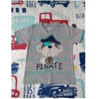 Camiseta Monkey - 2 anos - Não informada e Desconhecida