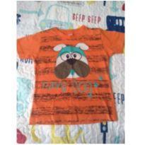 Camiseta Dog - 2 anos - Não informada e Desconhecida