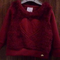 Blusa coração - 18 a 24 meses - playground