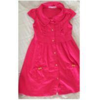 Vestido Pink - 4 anos - Turma da Malha