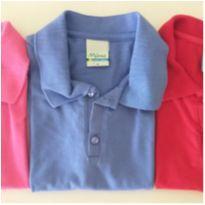 Trio blusa gola Polo (8) - 8 anos - Malwee