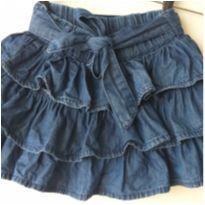 Saia jeans - 6 anos - Cativa