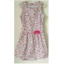 Vestido oncinha rosa - 6 anos - Malwee