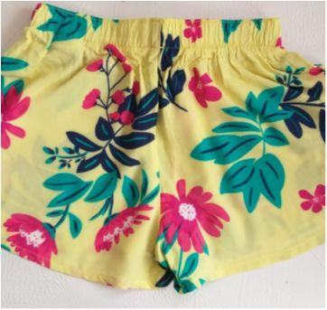Shorts Verde claro - 10 anos - Hering Kids