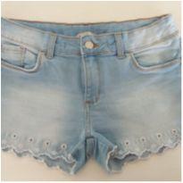 Shorts jeans claro - 12 anos - Palomino