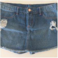Shorts Saia Jeans - 14 anos - Hering Kids
