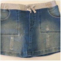 Shorts jeans molinho - 14 anos - Momi
