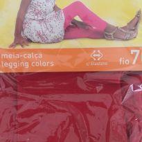 Meia Calça Legging Vermelha G - Lupo -  - Lupo
