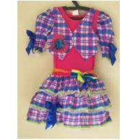 Vestido Junino - Tam. 08 - 8 anos - 4 cabeças