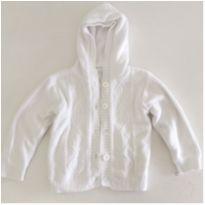 Casaco Branco - 24 a 36 meses - Baby Club