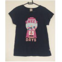Blusa azul Sweet Days - 12 anos - Hering Kids