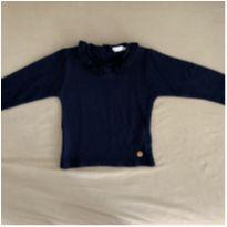 Blusa azul Tricot - 18 a 24 meses - Paola tricot