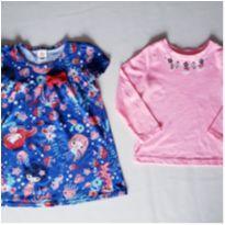 lote menina 3 - 3 anos - Carter`s e Zig Zig Zaa