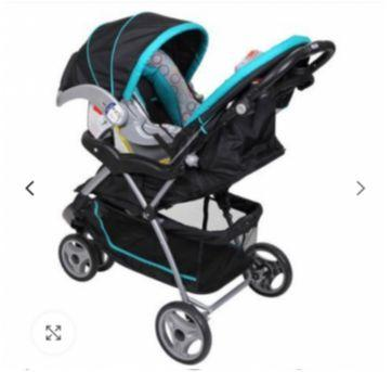 Carrinho de Bebê+Bebê conforto Baby Trend EZ Ride - Sem faixa etaria - Baby Trend