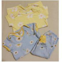Pijamas fofos no combo - 9 a 12 meses - Hering Kids e Acuo