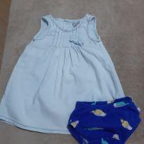 Vestido Hering fofo - 9 a 12 meses - Hering Kids