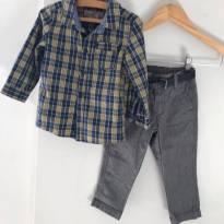 Conjunto LINDO para o babyboy - 12 a 18 meses - H&M