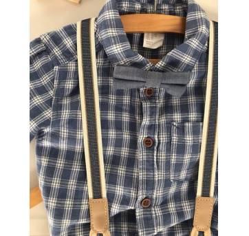 Conjunto perfeito para o babyboy - 12 a 18 meses - H&M